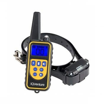IQVenture Dog Training Collar- 4 Highly Effective Training Modes