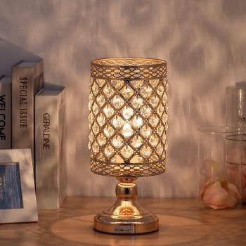 HAITRAL Crystal Table Lamp