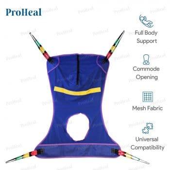ProHeal Universal Full Body Mesh Lift Sling