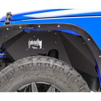 SMALLFATW Jeep Wrangler Steel Front Inner Fender Liners