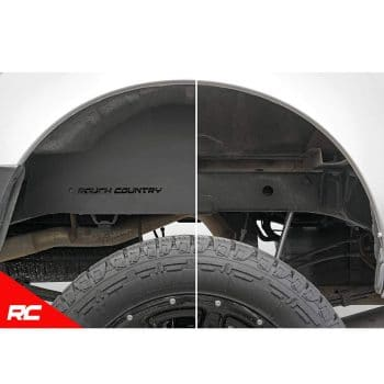 Rough Country Steel Rear Wheel Well Liners