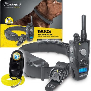 Dogtra 1900S HANDSFREE Remote Training Collar- Slim and waterproof