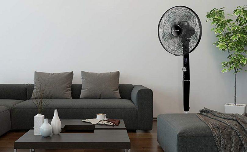 Remote Control Cyclone Pedestal Fan