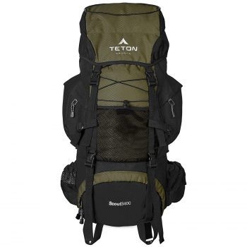 TETON Sports Scout High-Performance 3400 Internal Frame Backpack for Hiking and Backpacking