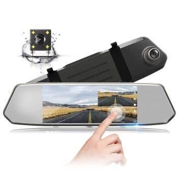 TOGUARD 7 Mirror Dash Cam