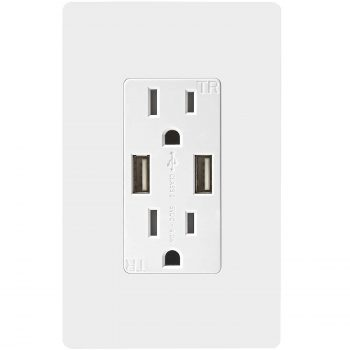 TOPGREENER High-Speed USB Charger Outlet