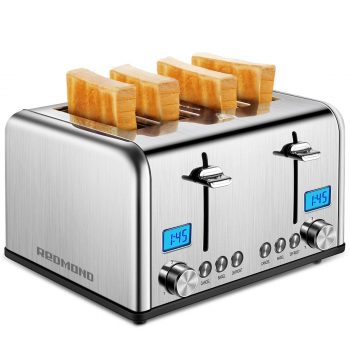 4 REDMOND 4 Slice Toaster