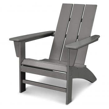POLYWOOD AD420GY Modern Adirondack Chair