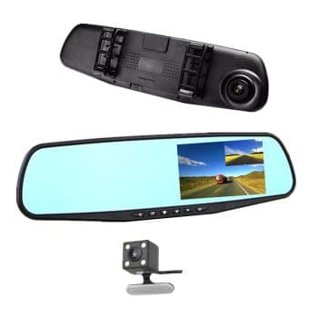 JinyueCar DVR Rearview Mirror Video Recorder