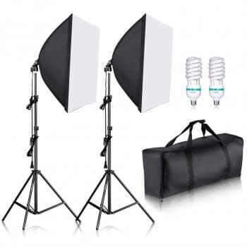 Neewer Professional Softbox Lighting Kit