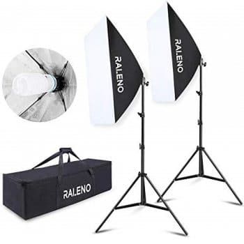 RALENO Continuous Lighting Photography Kit
