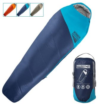 WINNER OUTFITTERS Portable and Lightweight Mummy Sleeping Bag for Traveling, Hiking