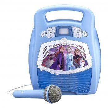 eKids Frozen 2 Portable Karaoke Machine
