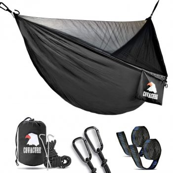 Covacure Hammock Double Sized with Mosquito Net