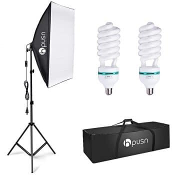 HPUSN Photography Softbox Studio Lighting Kit