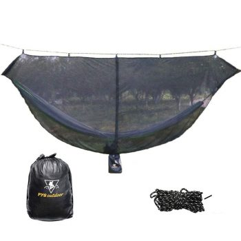 pys 12-foot Hammock for Camping with Bug Net