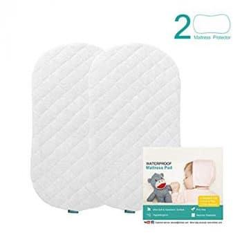 Biloban Bassinet Mattress Pad Cover