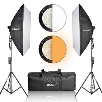 Emart Photo Equipment Softbox Lighting Kit