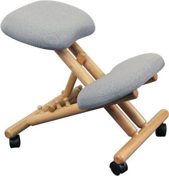 Flash Furniture WL-SB-101-GG Wooden Ergonomic Kneeling Chair