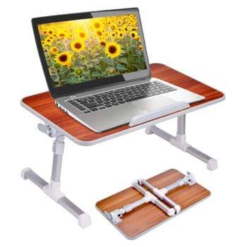 Neeto Laptop Height Adjustable Bed Table