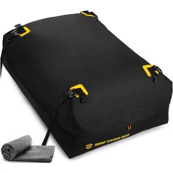 ToolGuards Car Top Carrier 100% Waterproof Roof Bag, 15 Cubic ft