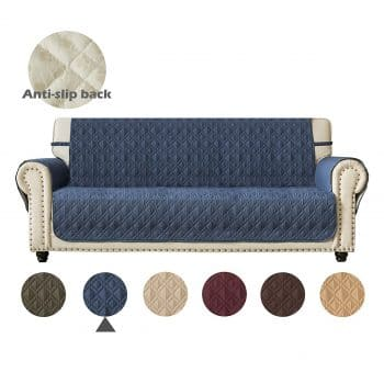 Ameritex Couch Sofa Slipcover Furniture Protector