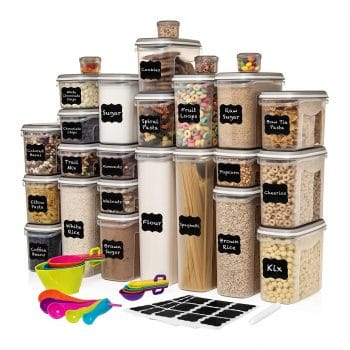 LARGEST Set of 52 Pc Food Storage Container