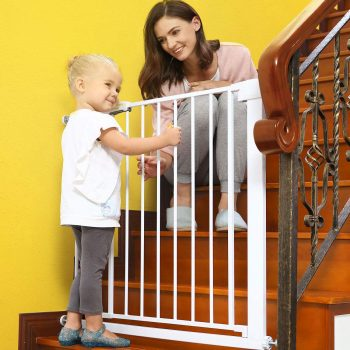 Lemon tree Baby Gates for Stairs and Doorways Dog Gates