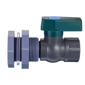 Mudder PVC Spigot for Rain Barrel Faucet Kit