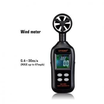 UYIGAO Digital Anemometer