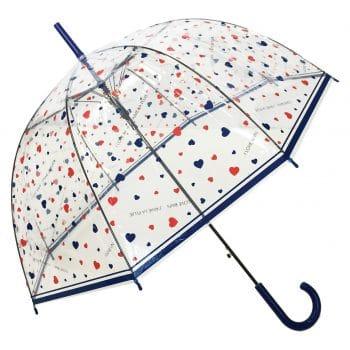SMATI Stick Birdcage Bubble Clear Umbrella