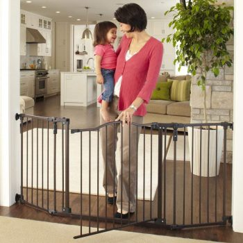 """Toddleroo by North States 72"""" wide Deluxe Décor Gate"""