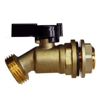 RAINPAL Brass Water Spigot for Rain Barrel