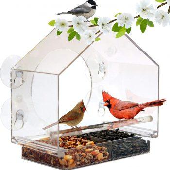 Window Bird Feeder House