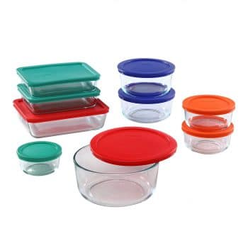 Pyrex Meal Prep Food Container Set
