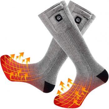 SNOW DEER Upgraded Heated Socks