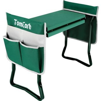 TomCare Upgraded Foldable Sturdy Garden Kneeler Seat