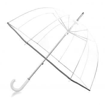 Kung Fu Smith 52-Inch Clear Bubble Umbrella
