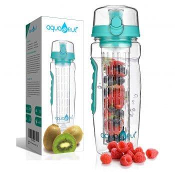 AquaFrut 32 OZ Fruit Infuser Water Bottle