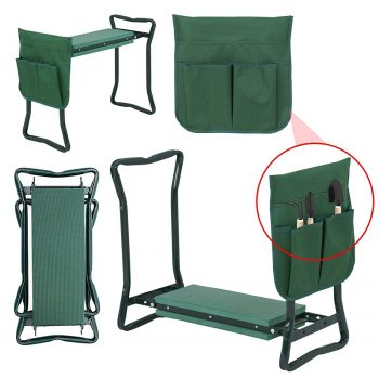 LEMY Multiuse Portable Garden Kneeler Seat