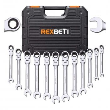REXBETI 12-Piece Ratcheting Set