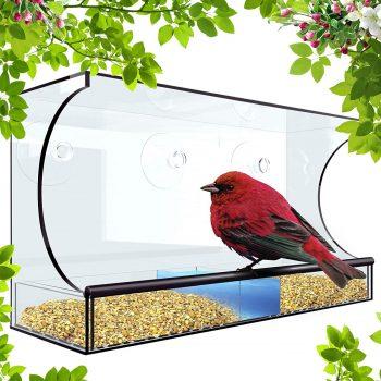 Tadge Goods Window Bird Feeder