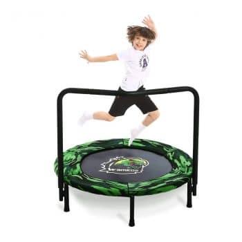 Wamkos 2020 Upgraded Dinosaur Mini Trampoline for Kids