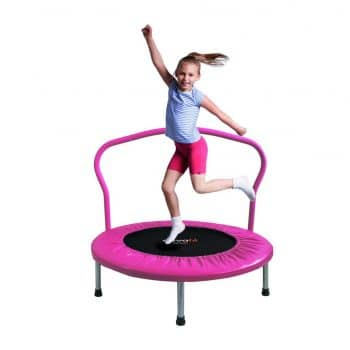 ATIVAFIT 36-Inch Folding Trampoline for Two Kids