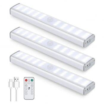 DUSENG 30LED Motion Sensor Closet Light 350lm
