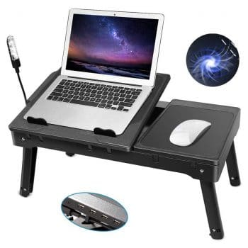 Laptop Table for Bed-Moclever Bed Tray