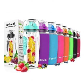 willceal Fruit Infuser Water Bottle