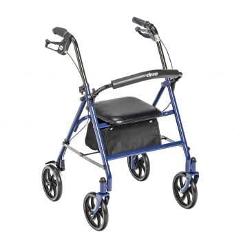 Drive Medical Four Wheel Walker