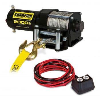 Champion 2000-lb ATV/UTV Winch Kit