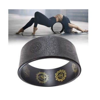 Coyan Dharma Strongest Comfortable Yoga Prop Wheel